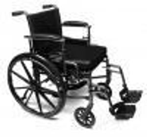 Chaise roulante avec repose pieds location eskair - Location chaise roulante ...
